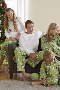 Winter Pups Family Pajamas
