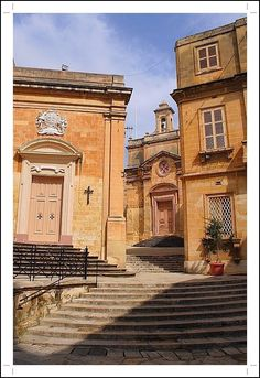 Quiet street in Birgu, Malta Copyright: George Rumpler
