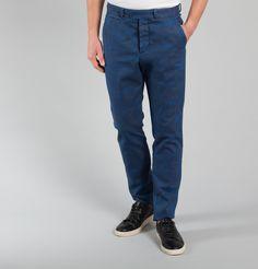 Pantalon Florian Old Blue Work Patrons en vente chez L'Exception