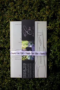 Happily ever after ribbon to hold programs together | villasiena.cc