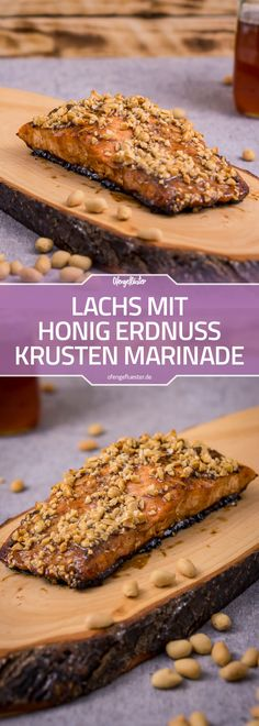 Lachs mit Honig Erdnuss Krusten Marinade Rezept Enjoy these top-rated grilled fish recipes outdoors this summer. Recipes include gingered honey salmon, tilapia piccata and even grilled fish tacos. Shrimp Recipes, Salmon Recipes, Pork Recipes, Fish Recipes, Baking Recipes, Cake Recipes, Honey Salmon, Evening Meals, Food Cakes