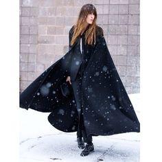 The Dark Knight @alexanderwangny suit, vintage Moroccan cape,...