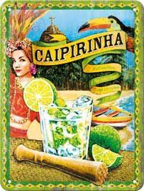Vintage drink poster