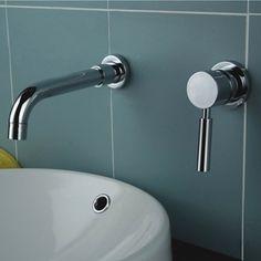 Stev Single Handle Wall Mounted Bath Sink Faucet