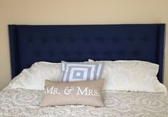 Tufted Wingback Headboard by TuftedLove on Etsy