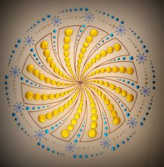 Mandalas are visual manifestations of a sub-conscious universal language, as is Sacred Geometry. - Mark Golding