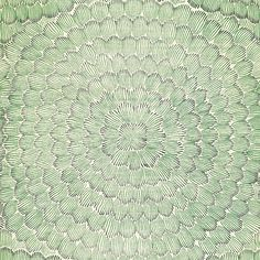 Schumacher - Feather Bloom: Big Pattern and beautiful!