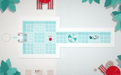 Swim Out strategic turn by turn puzzle game on Steam Greenlight