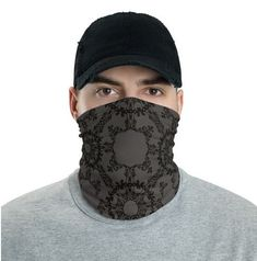 This neck gaiter is a versatile accessory that can be used as a face covering, headband, bandana, wristband, and neck warmer. Upgrade your accessory game and find a matching face shield for each of your outfits. Paisley Pattern, Paisley Print, Biker Mask, Do Rag, Turtle Pattern, Bandana Styles, Bandana Print, Neck Wrap, Diy Mask