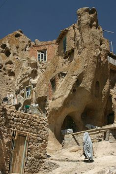 Fairy Chimney Homes - Kendovan, Iran