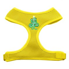 Swirly Christmas Tree Screen Print Soft Mesh Harness Yellow Small  Our soft mesh harnesses are conveniently made to slip over the dog's head and attach only once under the belly. There is a leash attachment on the back for walking. They contain a layer of padding on the chest for extra comfort while walking. - See more at: https://virventures.com/Swirly-Christmas-Tree-Screen-Print-Soft-Mesh-Harness-Yellow-Small-MRPP-7027SMYW?filter_name=Christmas#sthash.JZT2eRbn.dpuf