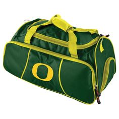 c825c2c64a58 Logo Brands 12 NCAA Athletic Duffel Bag - Oregon Ducks Michigan Gear