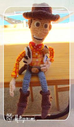 Woody - Toy Story - Amigurumi by Multigurumi.deviantart.com on @DeviantArt