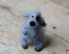 Puppy dog stuffed animal dog handmade dog toy dog by OlgaMareeva