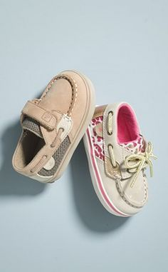 Tiny top-siders! Cute!
