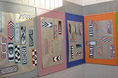 Exposição de marcadores realizados pelos alunos de 9º ano na Biblioteca Anes de Cernache