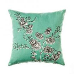 Summer Poppy throws and cushions from Home Republic