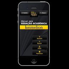 DE GRAÇA - em aplicativos para Facebook, Android e iPhone.  Aguarde!  O Manual tem uma parte voltada ao Trabalho Acadêmico, com as características gerais e requisitos de cada tipo de texto exigido aos autores