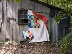 Denyse Schmidt's Big Charming quilt pattern paired with her Modern ...