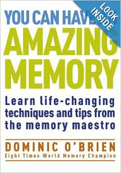 Memory book dominic o brien