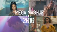 ~ Pop Songs World 2016 - Mega Mashup | (Dj Pyromania)
