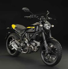 DUCATI Scrambler Full Throttle, Deep Black