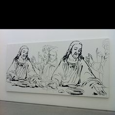 Warhol The Last Supper.