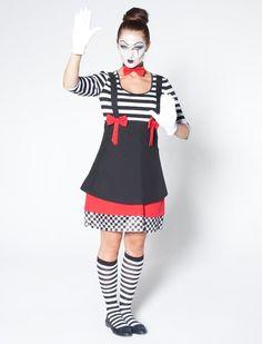 details zu clown kost m harlekin pierrot narr pantomime. Black Bedroom Furniture Sets. Home Design Ideas