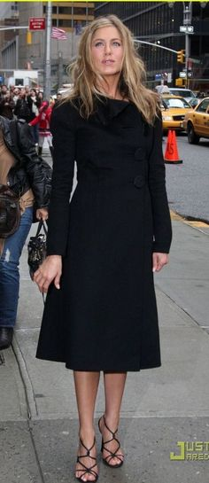 perfect little black coat dress