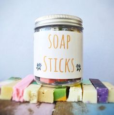 Soap Sticks por CleanseWithBenefits en Etsy