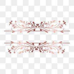 Frame Floral, Rose Gold Frame, Flower Frame, Rose Clipart, Flower Clipart, Marcos Vintage Png, Vintage Frames, Rose Gold Painting, Floral Vintage