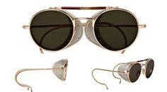 Header Thom Browne sunglasses round frame