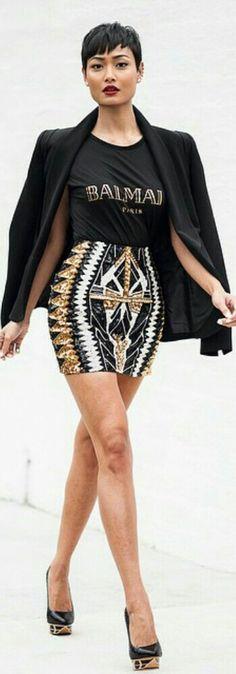 Black, White & Gold / Fashion by Micah Gianelli
