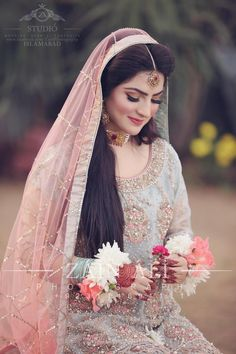 Pakistani Bridal Makeup, Bridal Mehndi Dresses, Nikkah Dress, Pakistani Wedding Outfits, Bridal Outfits, Bridal Lehenga, Indian Bridal, Pakistani Dresses, Indian Dresses