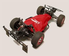 20-2661 Outerwears Pre-Filter chassis shroud for the Losi XXX SCT.