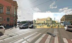 Halley Docherty - St Petersburg – Nevsky Prospekt by Anichkov Bridge
