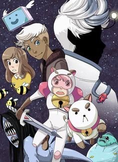 Sorry again for not having a comic for you fine folks, I keep reaching into my doodle and sketches that lay deep in my hard-drive. Bee and Puppycat I Love Bees, Bravest Warriors, Anime Nerd, Kawaii, Geek Girls, Geek Out, Manga Drawing, Magical Girl, Kids Playing