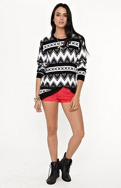 Kirra Tribal Pullover Sweater Urban Outfitter