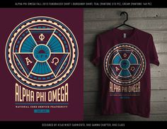 Cool, but would look better in blue and gold Rho Gamma, Alpha Phi Omega, Teal Shirt, Big Little Gifts, Greek Life, Fraternity, Sorority, Shirt Designs, Rush Week