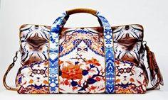 Print Weekender Travel Bag