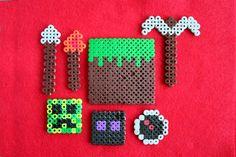 minecraft perler bead crafts by denna's ideas