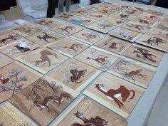 福島県飯館村にある山津見神社のオオカミ天井絵が復元されました こちらは2013年の火災被害で焼失したちとても珍しい狼の天井絵 東京藝術大学保存修復日本画研究室さんの手によってこの度復元 これまでの道のりが見れますよ 手の込んだオオカミの天井絵 畜産が盛んだった飯舘村で牛が襲われないようにとオオカミに畏敬の念を込めてこの天井絵が作られたという歴史があるんですよ 公開は福島県立美術館にて7月3日日までです ぜひぜひ間近でご覧になってください tags[福島県]
