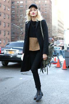 Martha Hunt #streetstyle #fashion #modeloffduty