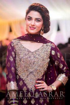 Royal purple model Maya Ali Pakistan