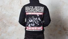 Death Before Dishonor Live Shot Hooded Sweater