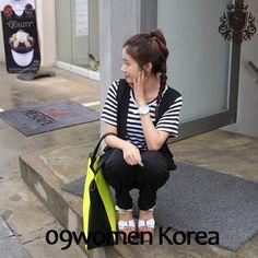 09women韩国大码女装 2013年夏季新款大码条纹T恤9766 韩版短袖T-淘宝网 09women.taobao.com