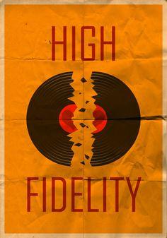 High Fidelity Vintage Poster by Mazzy12345.deviantart.com on @deviantART
