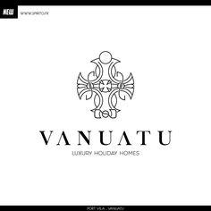 Luxury Holidays, Vanuatu, Home Logo, House Logos
