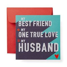 Best Friend Valentine's Day Card for Husband - American Greetings Happy Valentine's Day Husband, Husband Best Friend, Love My Husband, Best Friends, Valentines Day Husband, Best Friend Valentines, Happy Valentines Day, Funny Messages, Funny Cards