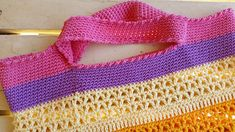 Ravelry: The Vee Bag pattern by Fiona Hawke Ice Cotton, Chevron Purse, Mississippi, Ravelry, Crochet Top, Pattern, Bags, Shopping, Color